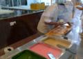 Melakaのドーナツ屋のアイスクリーム