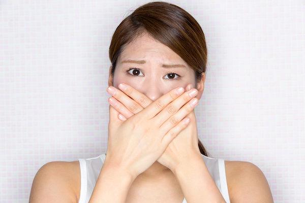 口が臭いことが原因でヤリ逃げされた女性