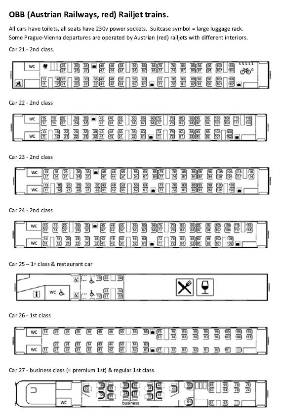 railjet seat map