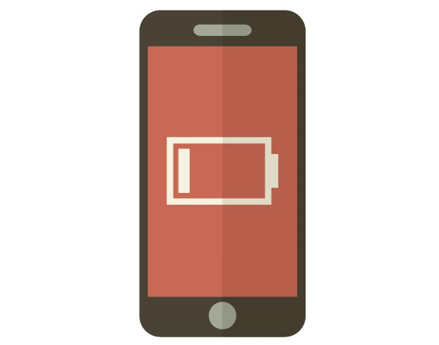 """充電が必要なスマートフォン""""f:id:years44:20180417214358j:plain"""""""