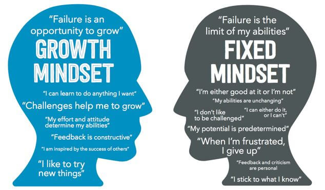 Growth Mindset:成長型思考パターンが大切である