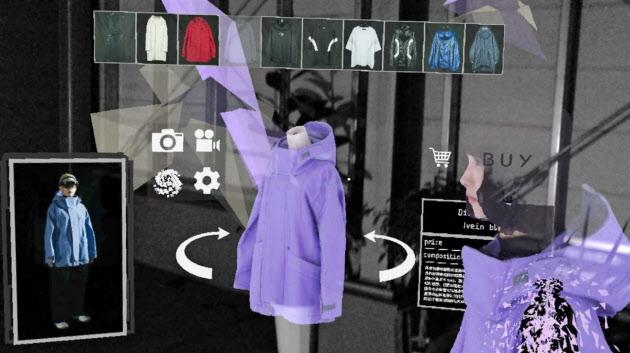 サイキックVRラボがリリースした複合現実コマース(MRコマース)の様子