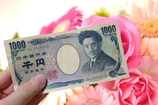 1000円プレゼント