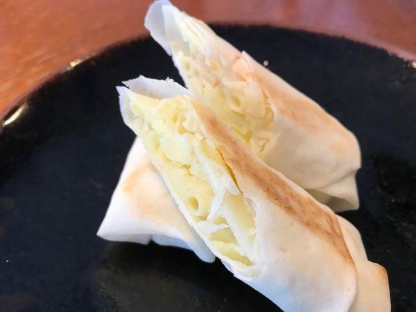 ポテトサラダのブリトー風