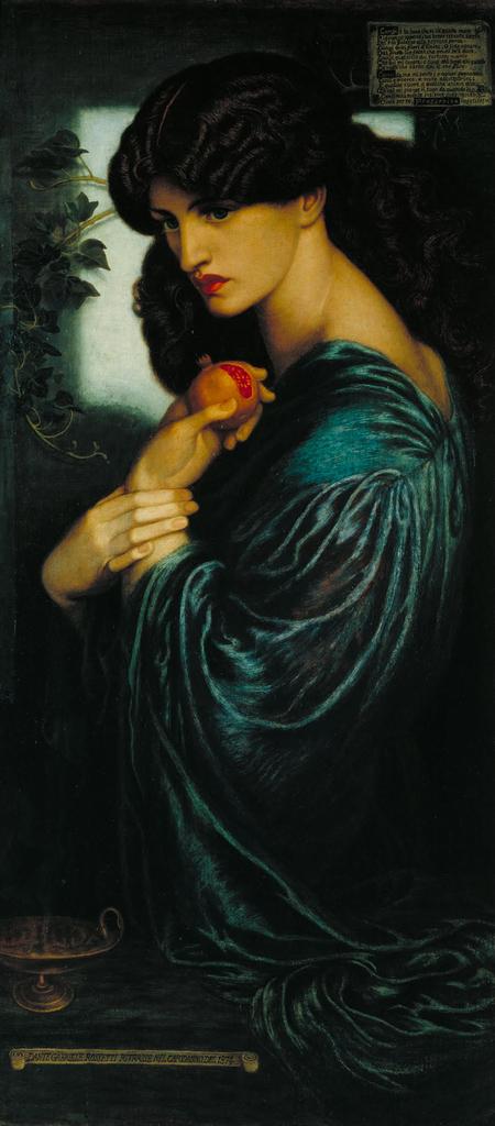 dante-gabriel-rossetti-proserpina-1874