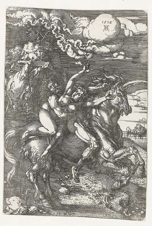albrecht-durer-abduction-of-proserpine-on-a-unicorn