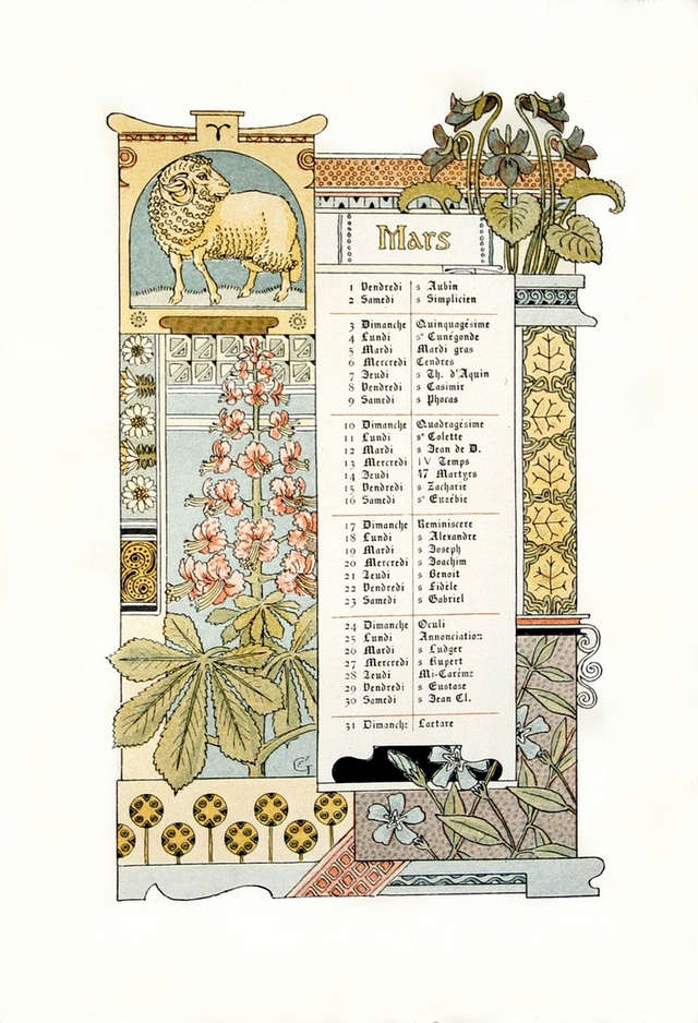 calendar-march-1886-eugene-grasset