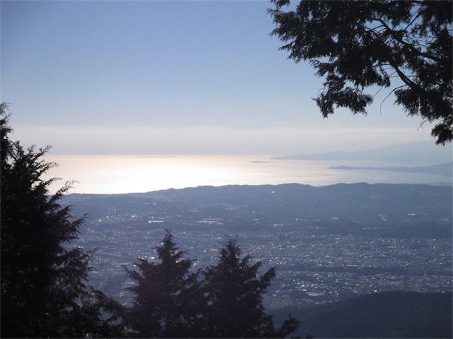 丹沢の大山山頂