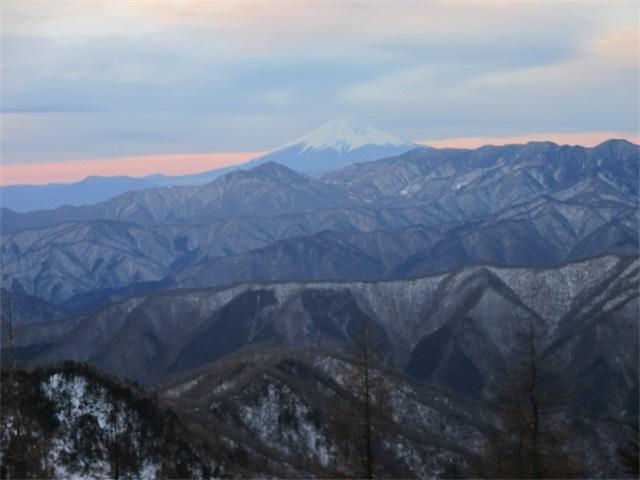 日本の山並み