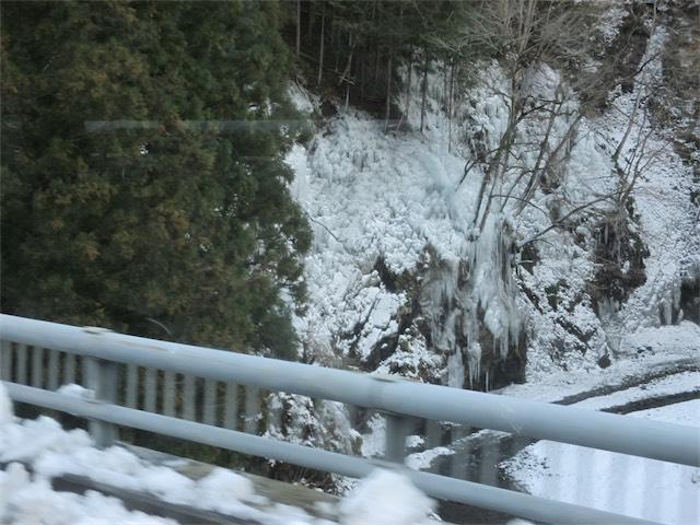 天然の氷柱