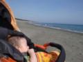 初めての海は茅ヶ崎のサザンビーチになりました。