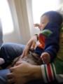 機内でもいいこ。