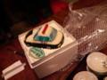 なべじゅん結婚お祝いケーキ。警視庁なのは謎。