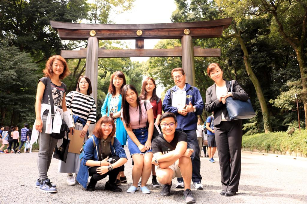 明治神宮で英語ボランティアガイドに挑戦