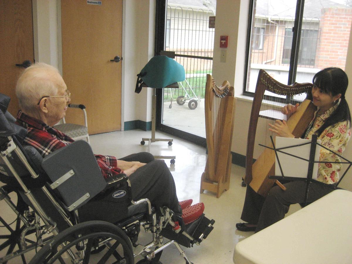 シンシナティの高齢者施設に住む男性