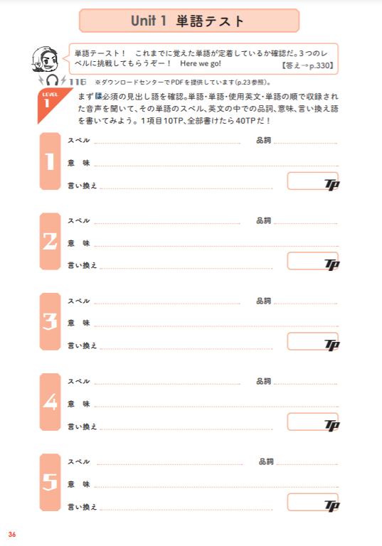 TOEICテスト単語王