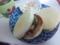昨日のホイル焼きの残りとチーズをマフィンに挟んで昼ごはん♪ マフ