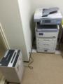 利用者が使えるカラーコピー機等。