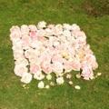 バラ(ピエールドゥロンサール)花がら77個