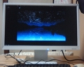 [photo]A LCD which I bought yesterday. It's the first time for me to use LCD at home.