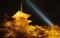 第15回京都新聞写真コンテスト 夜桜に映える三重の塔