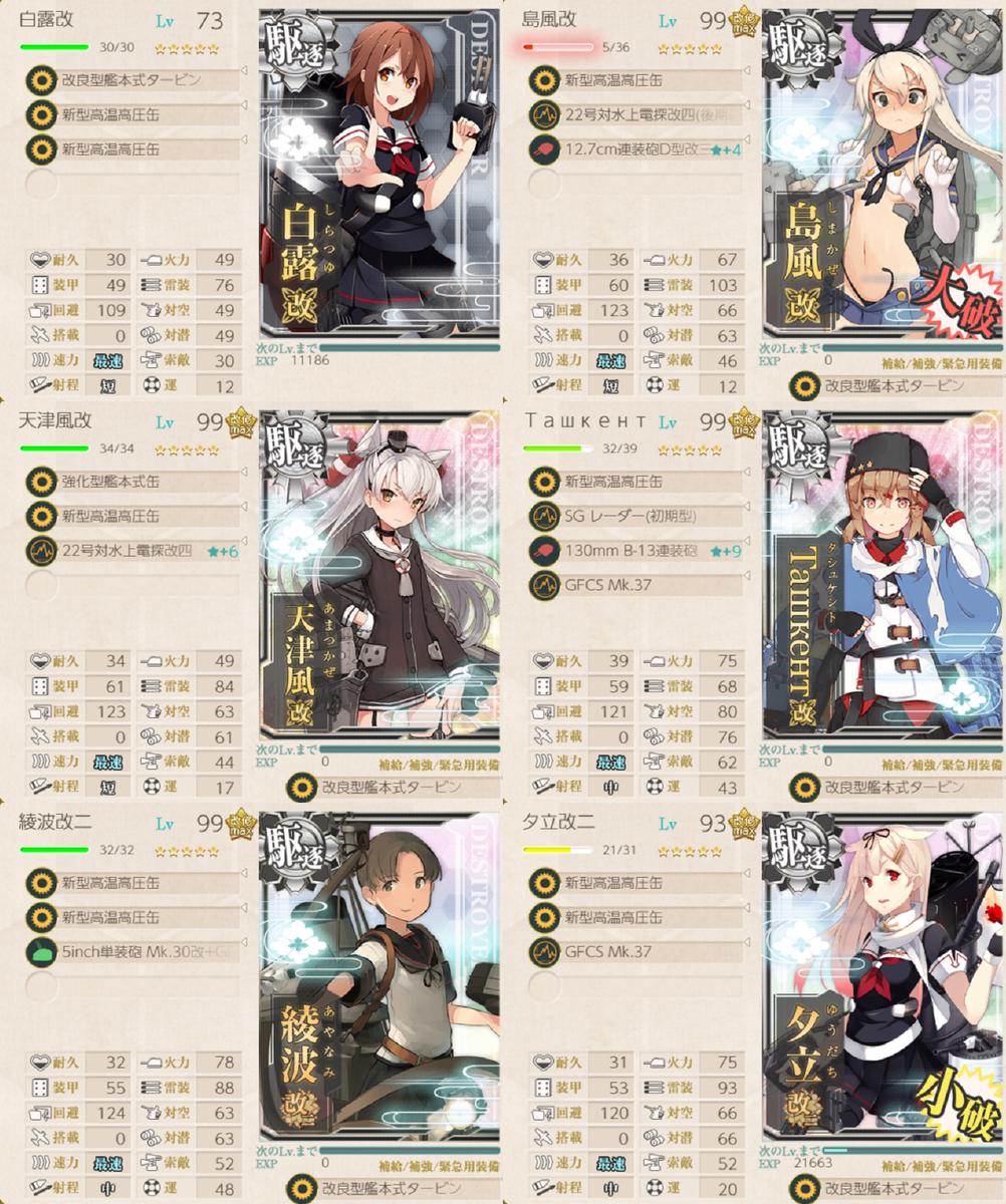 駆逐 艦 艦 レベリング これ