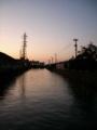 [空][鉄塔]川