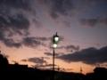 [空]街灯