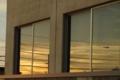 [空]ガラスに映るもの
