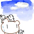 [ようせい][くま絵]おはよう