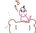 [ようせい][ねこ絵][くま絵]おはよう