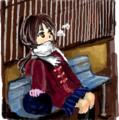 [女の子絵]はてなハイカーさん、冬だしダッフルコート着た子のイラスト欲しい!
