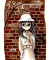 [女の子絵]2010年だから2010枚のめがねこの絵を描くよ