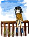 [女の子絵]Haiku