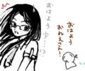 [女の子絵][ようせい]らくがき