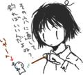 [ようせい][女の子絵]11月11日だからみんなで1111枚のポッキーの絵を描く