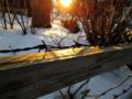 [雪]有刺鉄線