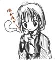 [女の子絵][ようせい]おはよう