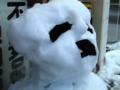 [雪]雪だるま