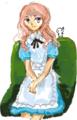 [ようせい][女の子絵]はてなハイカーさん、エプロンドレス少女のイラスト欲しい!