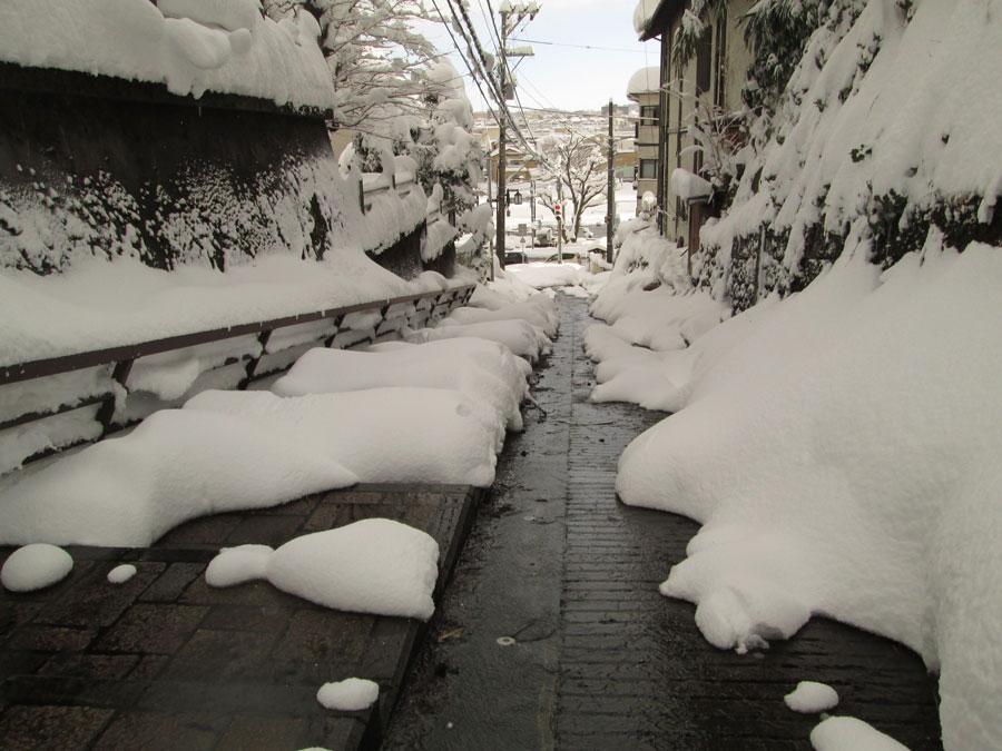 [雪][階段]