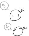 [ようせい]「正」以外の文字で数を集計