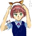 [ようせい][女の子絵]はてなハイカーさん、猫耳っ娘のイラスト欲しい!