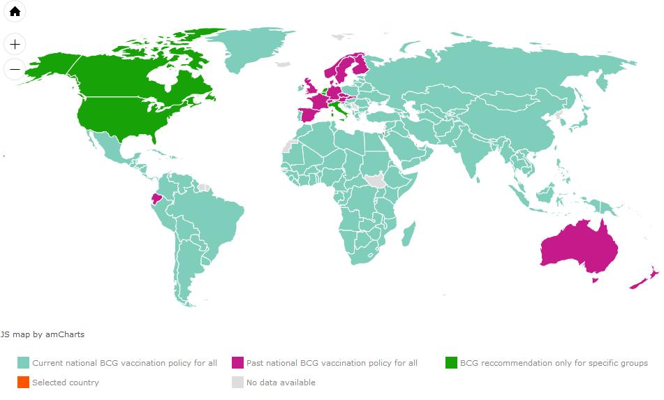 BCG World Map