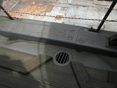 甲板排水口