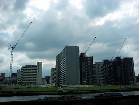 [空][隅田川][建築]