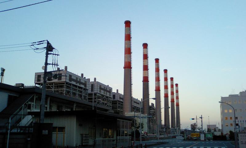 東京電力川崎火力発電所
