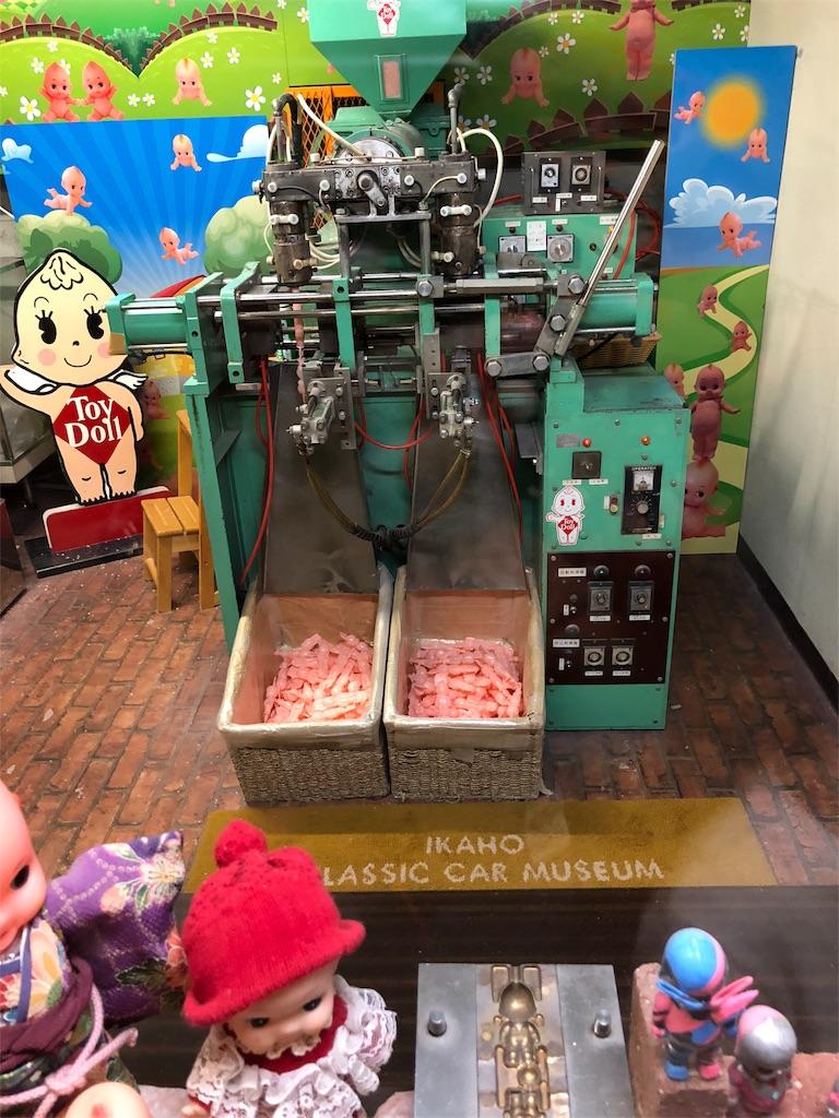 キューピーちゃん人形を作る機械