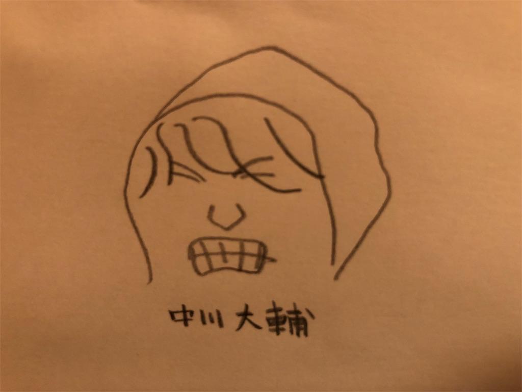 中川大輔のイラスト