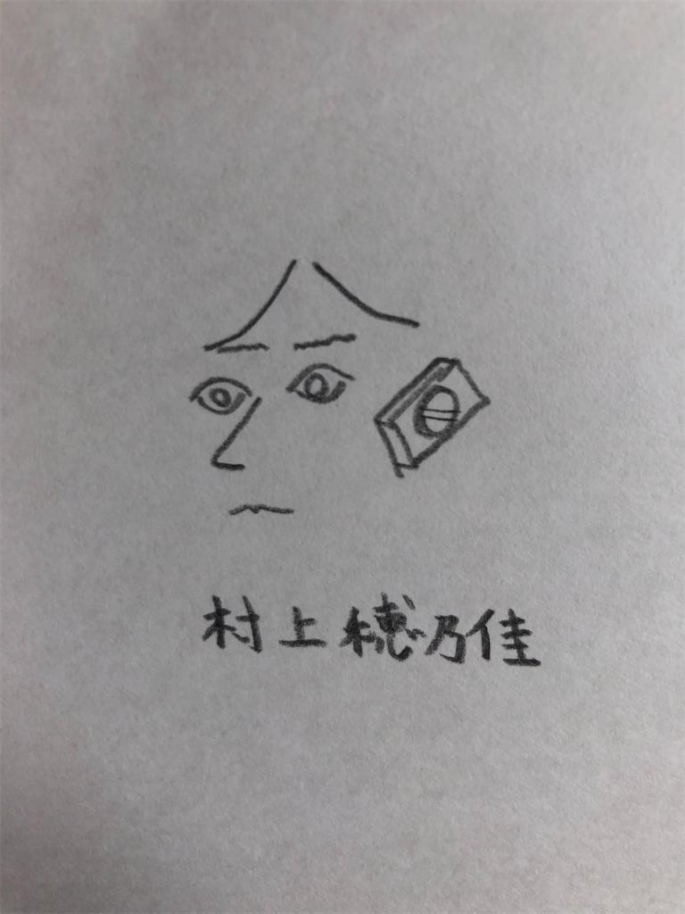 村上穂乃佳の似顔絵